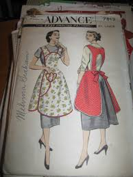 Vintage Apron Patterns Cool More Apron Patterns My Life And The History Of The World
