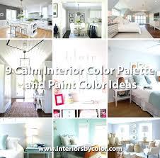 Bedroom Color Palette Bedroom Color Scheme Ideas 9 Calm Interior Color  Palette And Paint Color Ideas