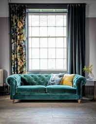 Two Seater Sofa Living Room Velvet Chesterfield Sofa Three Seater Or Two Seater Available