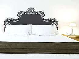 headboard wall decal bedroom headboards awesome vintage bed headboard wall sticker by designs headboard wall sticker