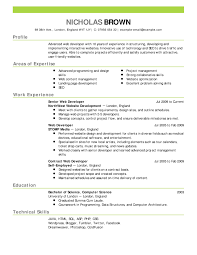 Successful Resume Template What Resume Template Is Most Successful Best Of Examples Of 9