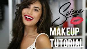 selena inspired makeup and hair tutorial easy