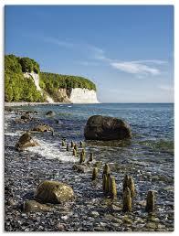 Rico Ködder Ostseeküste Auf Der Insel Rügen Leinwandbild