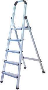aluminium step ladder. 184.99 AED Aluminium Step Ladder