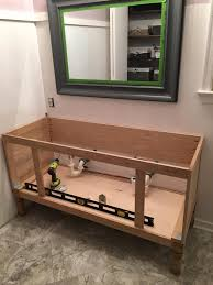 building your own bathroom vanity. Bathroom: Impressing Ana White Bathroom Vanities DIY Projects On Build A Vanity Cabinet From Building Your Own K