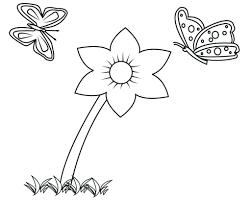 Tranh Tô Màu Bông Hoa 5 Cánh Cho Bé ❤️ Hình Hoa Đẹp