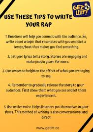I did get inspiration from a hyperaptive recording in which the last line of the first stanza is based on. Gully Boy How To Write A Rap Song For Beginners Getlitt