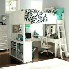 bunk bed office white bunk bed with desk awesome loft beds with desk for teens resized