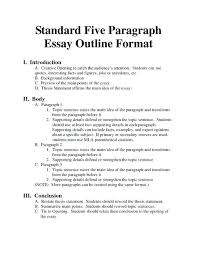 Paper Outline Templates Thin Sectioned Essay Research Paper Outline Template Best Example