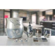 acrylic bathroom accessories set bath cup daniels bath  piece bathroom accessory set