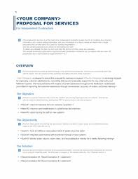 Download A Free Business Proposal Template Formfactory