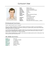Short Cv Templates Brief Resume Template Short Cv Templates Colesthecolossusco