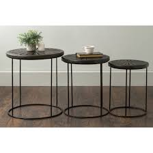 coffee table amazing round marble nesting tables glass stacking within stacking end tables ideas