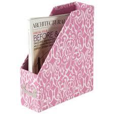Pink Magazine Holder Sheffield Home Fiberboard Magazine Holder Magazine File Box 28
