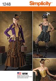 Simplicity Patterns Costumes Classy Simplicity Pattern 48Misses' Steampunk Costumes Simplicity