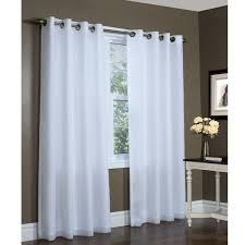fancy extra wide curtains and long for living