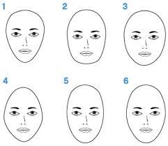 Face Shape Chart Makeup Beauty Diys Determine Your Face Shape Its