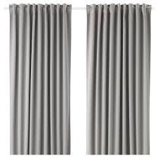 ikea majgull block out curtains 1 pair