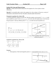 lecture notes for section 10 5