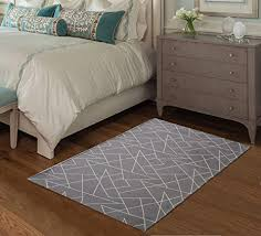 vantextile home non slip carpet living room stain resistant area rug geometric design pattern