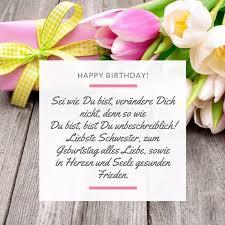 Happy Brithday Liebe Schwester Schöne Glückwünsche Für Ihr