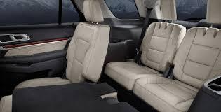 2017 ford explorer platinum third row seat