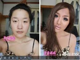 so we 39 re all aware of how some asian s can work their makeup magic