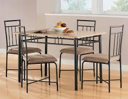 breakfast furniture sets. 5 Piece Dining Set Wood Metal 4 Chairs \u0026 Table Kitchen Breakfast Furniture NEW Sets H
