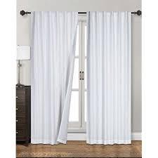 white blackout drapes.  Blackout Siena Home Fashions Midnight Blackout Curtain 55 On White Drapes A