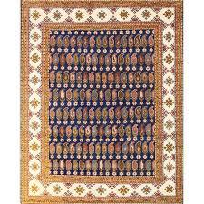 20 kazak wool rug bk6396 7 8 x 9 8