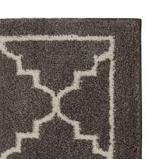 area rug home depot new rugs mohawk border lattice linen ft x intended for indoor outdoor