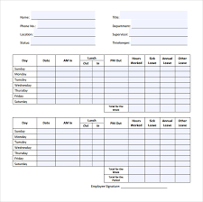 Timesheets Sample Sample Timesheets Magdalene Project Org
