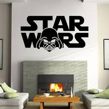 star wars letters diy removable art vinyl e wall sticker decal mural home decor stickers for