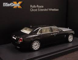 Ghost Hunting: Kyosho Announces 1:43 Rolls-Royce Ghost Extended ...