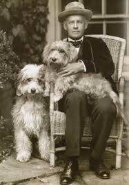 25 Rare Photos of Famous Authors | Famous authors, Dog people, Vintage dog
