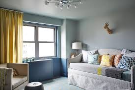 view full size chic boy s nursery features gray paint