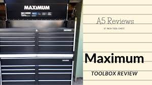 maximum tool chest review you