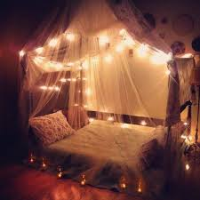 Bedroom with canopies & fairy lights I want something like this in my dorm  next year! Art, Interior Decor, Architecture - homeyou design the home you  love
