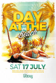 Beach Flyer Download The Day At The Beach Flyer Template