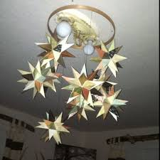 image of image of moravian star light fixture
