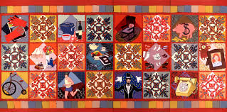 Lori Loebelsohn » Story Quilts & Diamond Family Quilt Adamdwight.com