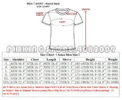 Mens T Shirt Size Chart Australia Dreamworks
