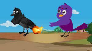भूखा पक्षी | Hungry Bird Story Hindi | Chidiya our Kauwa Ki Kahani | Hungry  Bird Chidiya Kauwa