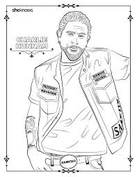 Small Picture 32 adult coloring book pages of Hollywoods hottest men and they