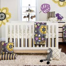 attractive image of baby girl nursery room with unique baby girl crib bedding set captivating