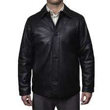 perry ellis mens lamb skin leather on front jacket perry ellis by brand brands