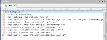 Javascript On Error Resume Next - script on error resume next