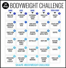 The 30 Day Bodyweight Workout Challenge That Will Burn Your