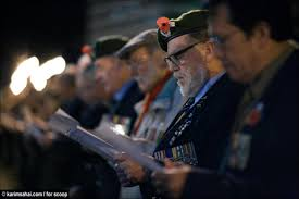 photo essay anzac day dawn service in wellington scoop news click for big version