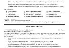 Technical Skills In Resume Interesting Technical Skills Resume Resume Badak